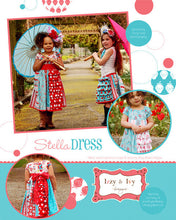 Load image into Gallery viewer, Stella Dress and Skirt Pattern