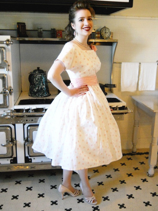 Ladies' 1958 Party Dress Pattern