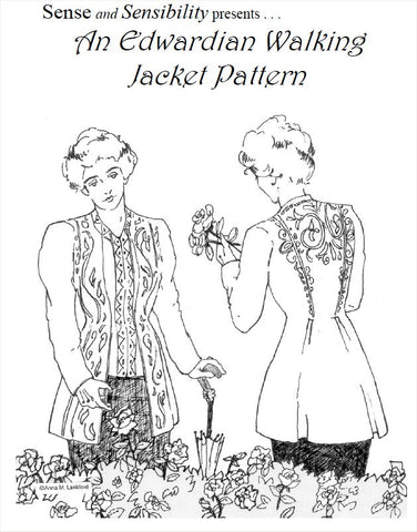 Edwardian Walking Jacket Pattern