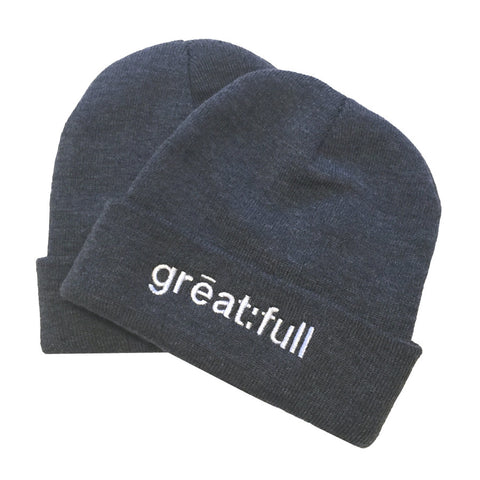 Hat - great:full - Dark Grey