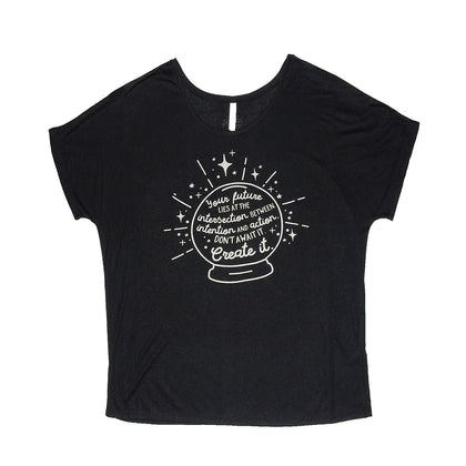 T-shirt - Crystal Ball - Black