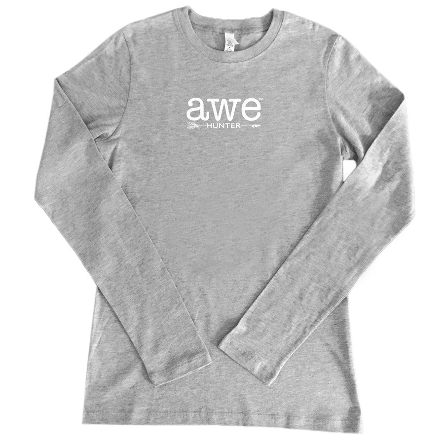 Awe Hunter - Heather Long Sleeved