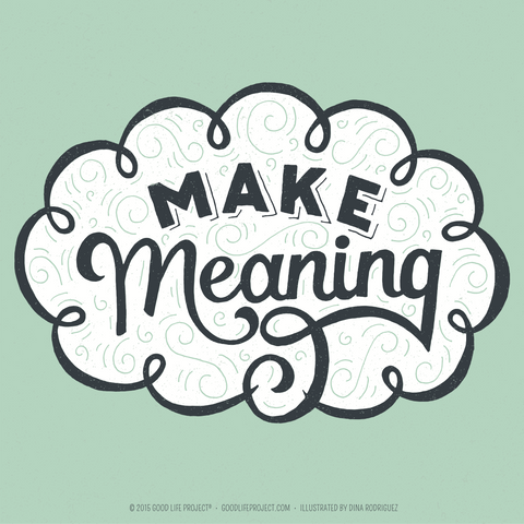 Poster - Make Meaning