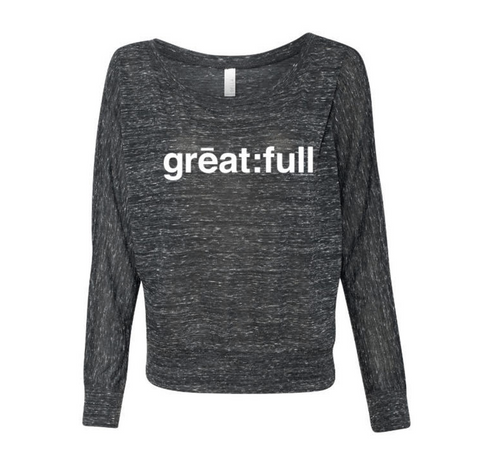 Long Sleeve - great:full - Dark Grey