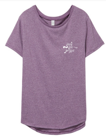 T-shirt - GLP Groovy Logo - Fitted/Lilac