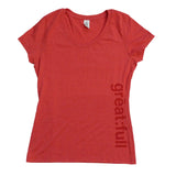 T-shirt - great:full - Red