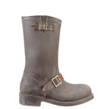 nat-2™ Rugged Prime Biker grey brown (W) | 100% waterproof rainboots