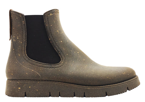 nat-2™ Rugged Prime Chelsea Cork grey brown (W) | 100% waterproof rainboots