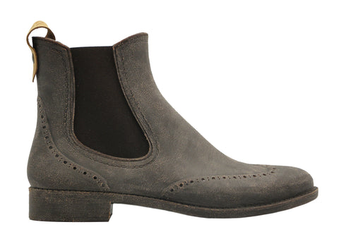 nat-2™ Rugged Prime Chelsea grey brown (W) | 100% waterproof rainboots