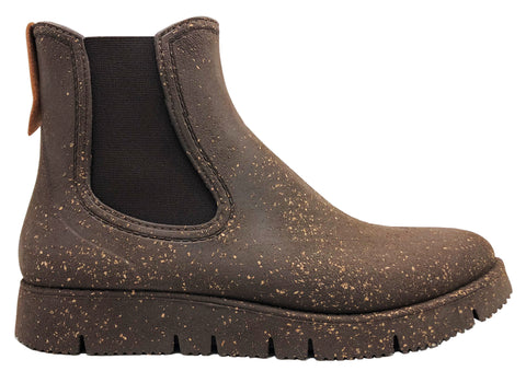 nat-2™ Rugged Prime Chelsea cork vegan (W) | 100% waterproof rainboots