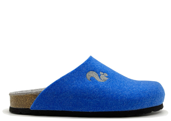 thies 1856 ® Recycled PET Bio Clog vegan blue (W/M/X)