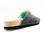 thies 1856 ® Recycled PET Bio Clog vegan anthracite mint (W/M/X)