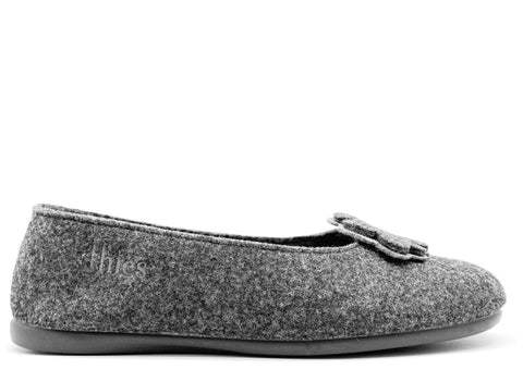 thies 1856 ® Recycled PET Ballerina vegan anthracite (W/X)