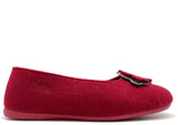 thies 1856 ® Recycled PET Ballerina vegan bordeaux (W/X)