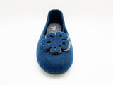 thies 1856 ® Recycled PET Ballerina vegan navy (W/X)
