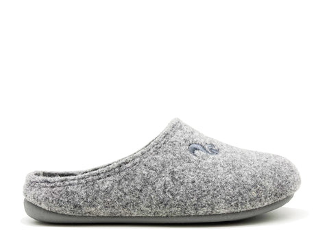 thies 1856 ® Recycled PET Slipper Kids vegan light grey (K)