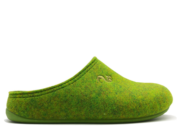 thies 1856 ® Recycled PET Slipper vegan green (W/M)
