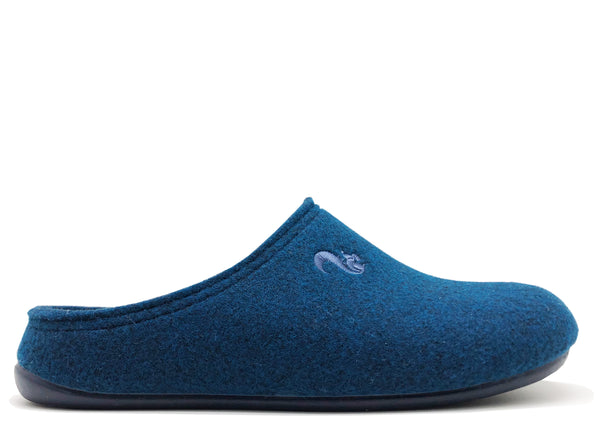 thies 1856 ® Recycled PET Slipper vegan navy (W/M)