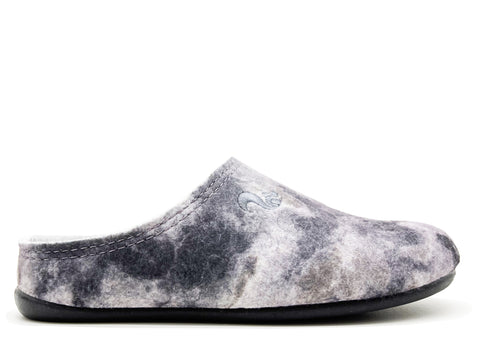thies 1856 ® Recycled PET Slipper nebula grey (W)