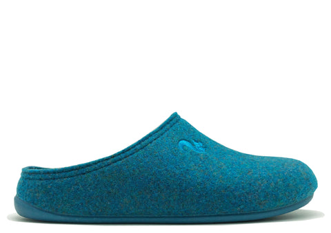 thies 1856 ® Recycled PET Slipper vegan petrol (W)