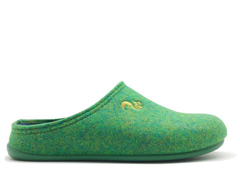 thies 1856 ® Recycled PET Slipper vegan verde green (W/M)