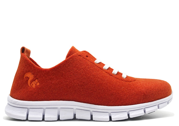 thies ® PET Sneaker orange | vegan aus recycelten Flaschen