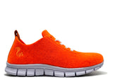 thies ® PET Sneaker neon orange | vegan aus recycelten Flaschen