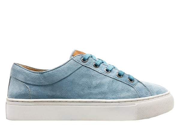 thies ® Veggie Tanned Sneakers light blue sky (W)