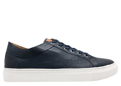 thies ® Veggie Tanned Sneakers navy (M)