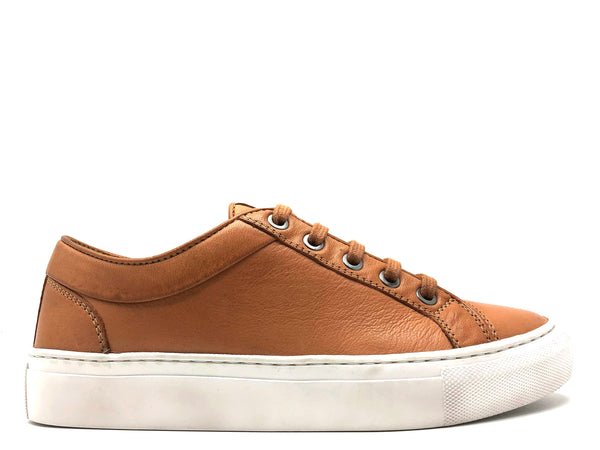 thies ® Olivenleder ® Sneakers biscotto (W)