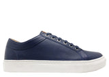 thies ® Olivenleder ® Sneakers navy (W)