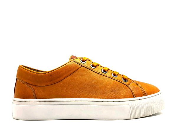 thies ® Veggie Tanned Sneakers yellow (W)