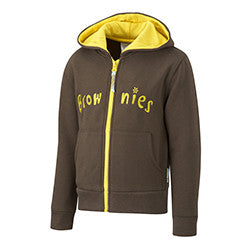 Brownie Hooded Top