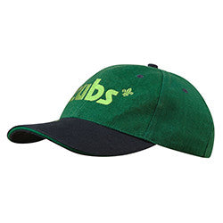 Cub Embroidered Cap Green