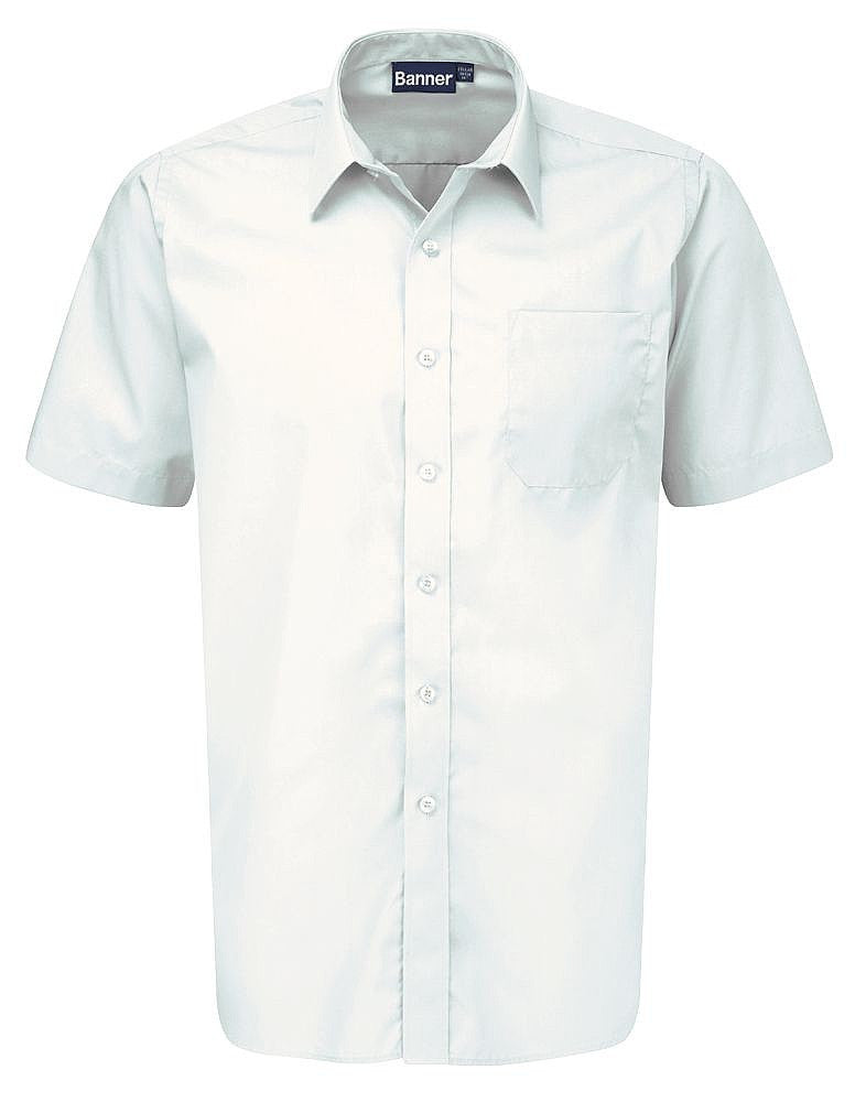 Boys Twin Pack Short Sleeve Shirt