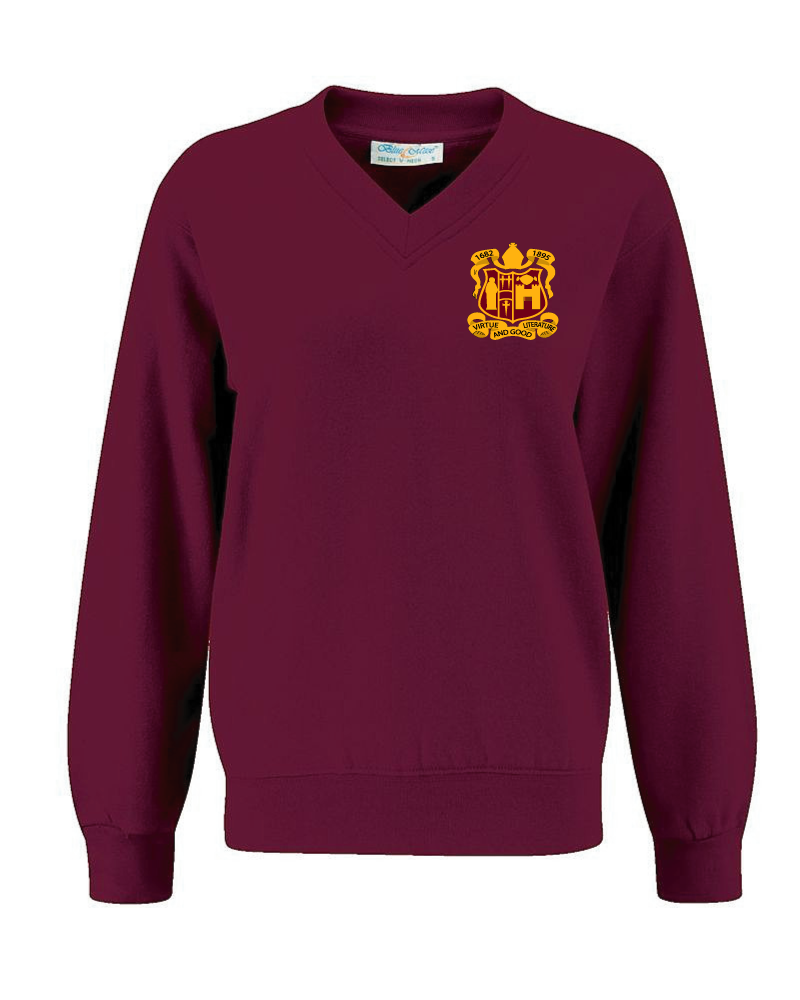Bishop Gore Comprehensive School - V- Neck Sweatshirt