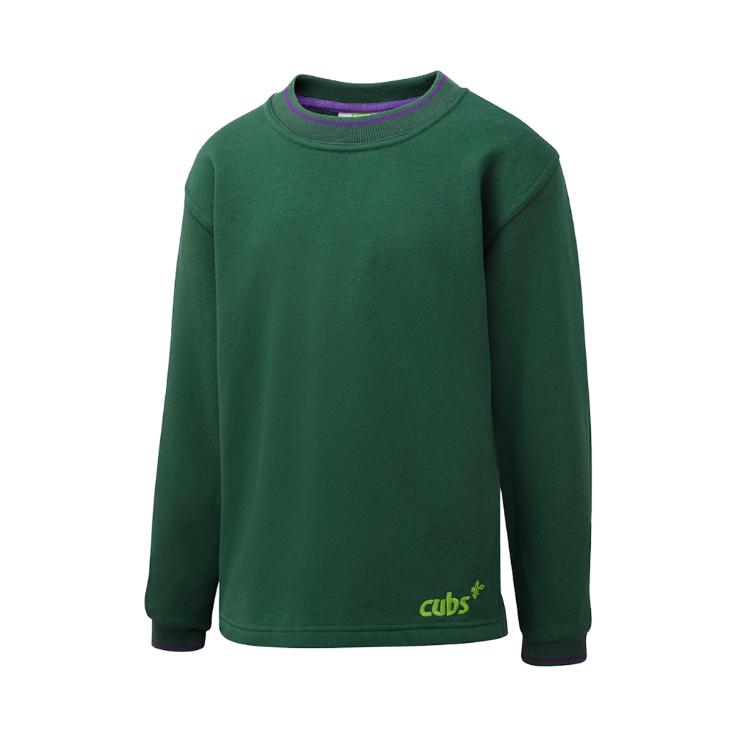 Cub Tipped Sweatshirt Bottle
