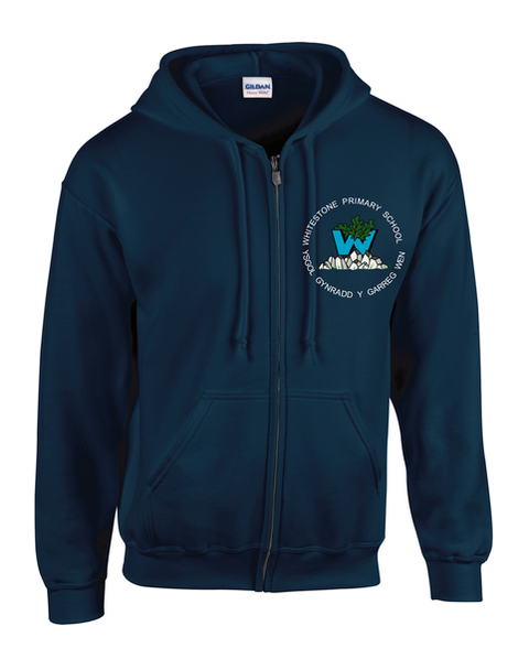 Whitestone Primary (Zipped Hoodie)
