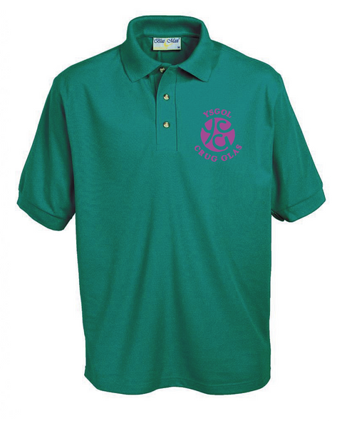 Crug Glas Primary (Polo Shirt)