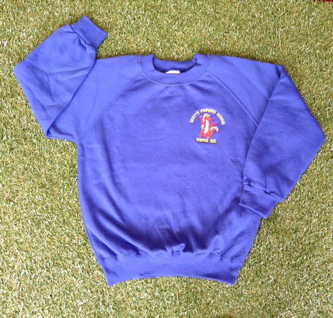 Sketty Super 6 (Sweatshirt) - Year 6 only