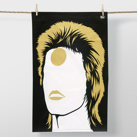 Rock Star 'David Bowie' Limited Edition Tea Towel