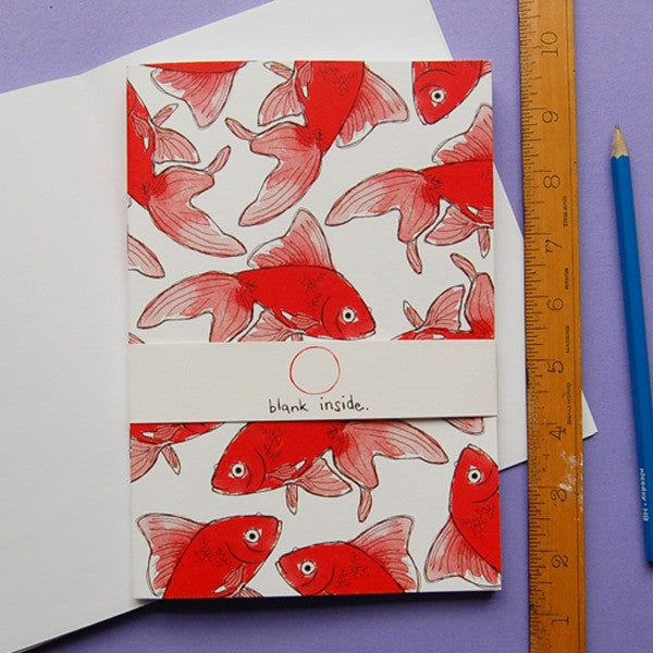 'Goldfish' Notebook A6 *Made in the UK*