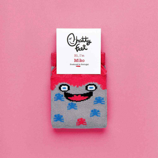 Chatty Feet 'Miko' Kids Socks