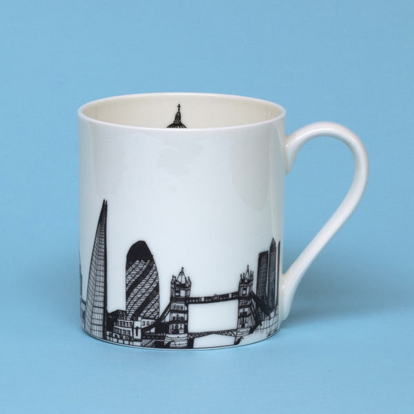 'London Skyline' Bone China Mug *Made in the UK*
