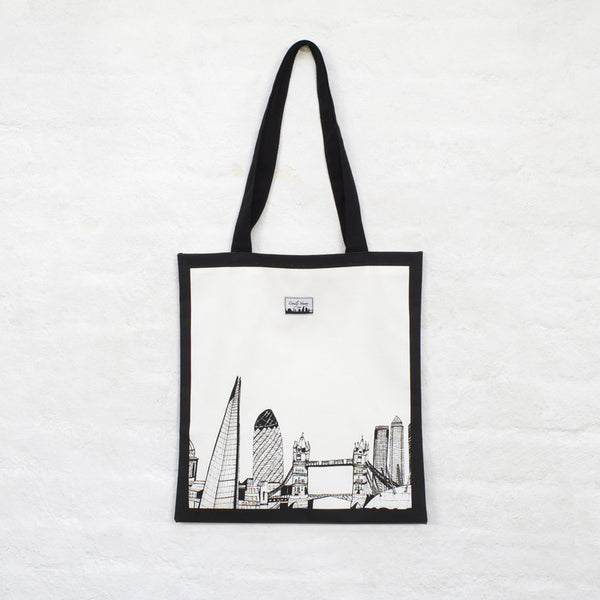 'London Skyline' Tote Shopper Bag *Made in the UK*
