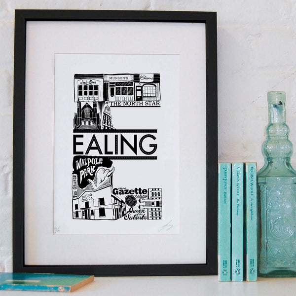 'Best of Ealing' Screen Print (Unframed)