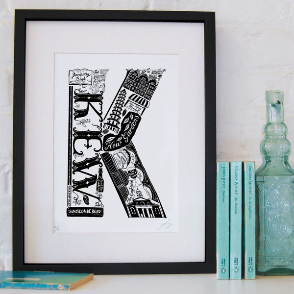 'Best of Kew' Screen Print (Unframed)
