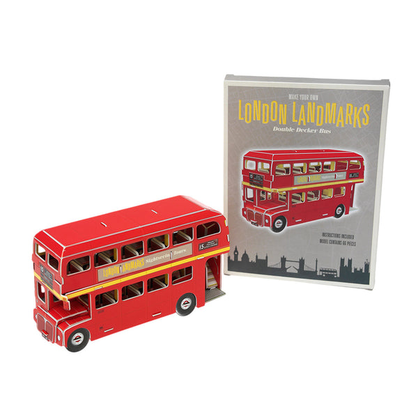 Make Your Own London Landmark - London Bus