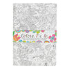 Colour Me In 'Tropical Birds' A5 Notebook