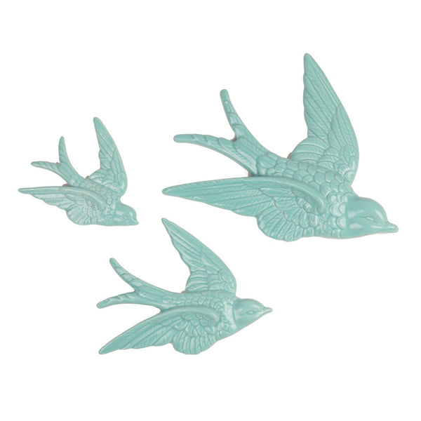 Flying Swallows Wall Decoration